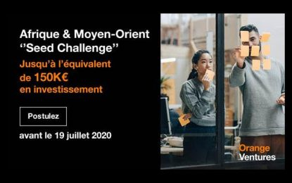 Orange Ventures lance un challenge au profit des entrepreneurs de start-up