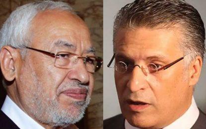 Rached Ghannouchi roule Nabil Karoui dans la farine