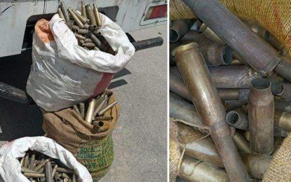 Sfax : Saisie de 2250 douilles de munitions de différents calibres (Photos)