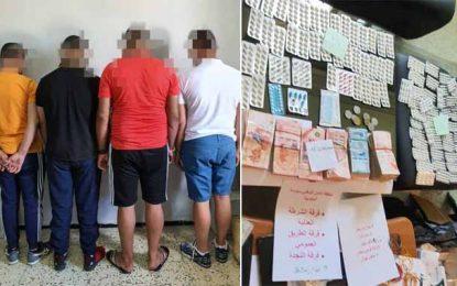 Trafic de drogue : Arrestation de 4 étrangers à Sousse (Photos)