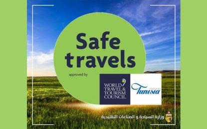La Tunisie obtient la certification Safe Travels, du Conseil mondial du voyage et du tourisme
