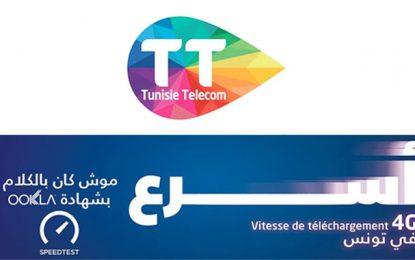 Le réseau 4G Tunisie Telecom offre le téléchargement la plus rapide (Speedtest)