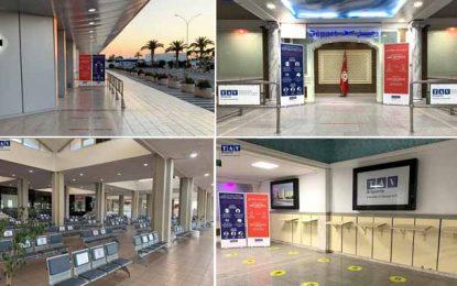 Tunisie : Les aéroports de Monastir et d'Enfidha «Ready and Safe» pour la reprise touristique (Photos)