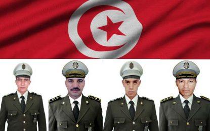Tunisie : Hommage aux 4 gardes nationaux tombés pour la patrie, il y a 5 ans