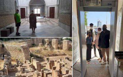 Tunisie : Après 3 mois de fermeture, les sites et les musées reçoivent leurs premiers visiteurs (Photos & Vidéo)
