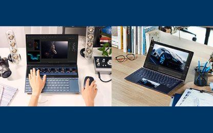 ASUS ZenBook Duo et ASUS ZenBook 14 commercialisés en Tunisie