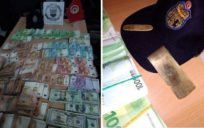 Sfax : Saisie d'un montant en devises équivalent à environ 1 million et demi de dinars