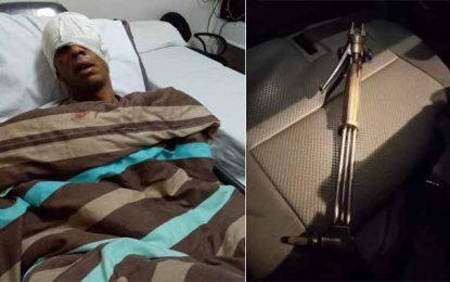 Bizerte : Agressé par des délinquants, un policier admis en soins intensifs