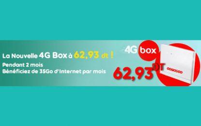 Nouvelle promotion 4G Box de Ooredoo : une connectivité très haut débit à prix doux