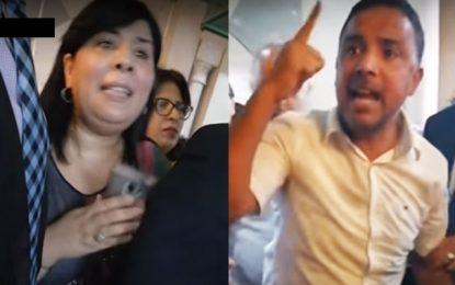 Après la condamnation de son agression verbale envers Moussi par le Bureau du Parlement, Makhlouf réagit en la… réinsultant