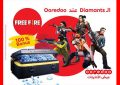 Ooredoo propose, en exclusivité, aux gamers tunisiens, les Diamants Free Fire
