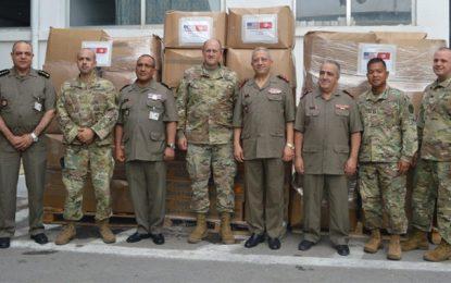 Don américain au profit de l'hôpital militaire de Tunis (Photos)