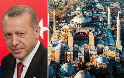 La mosquée Hagia Sophia d'Istanbul, de Mohamed le conquérant a Erdogan le bas…