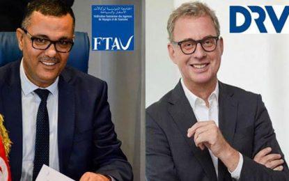 Voyages : Vers un partenariat entre la FTAV tunisienne et la DRV allemande