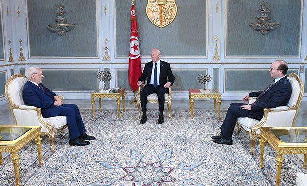 Kaïs Saïed, un président sur un nuage