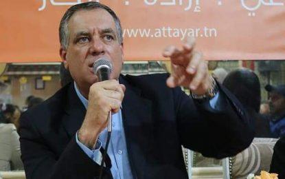 Ghazi Chaouachi : «Le remaniement ministériel montre que le gouvernement a échoué»
