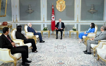 Kaïs Saïed prévient Ghannouchi qu'il peut dissoudre l'Assemblée