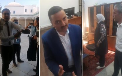 Assemblée : Abir Moussi squatte le bureau de Habib Khedher (Vidéo)