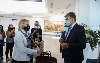 Le premier vol charter en provenance du Luxembourg débarque à Djerba
