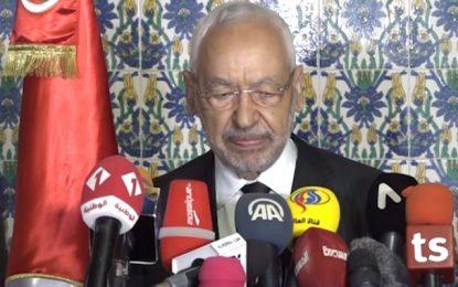 Maintenu à la tête de l'Assemblée, Ghannouchi veut éviter sa dissolution par le président Saïed