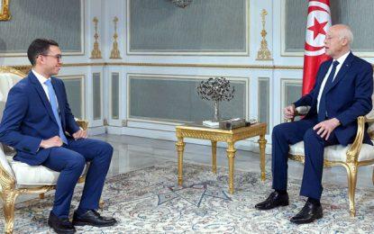 Kaïs Saïed reçoit Wassim Dhaouadi, le Tunisien classé parmi les 10 jeunes les plus remarquables au monde (Vidéo)