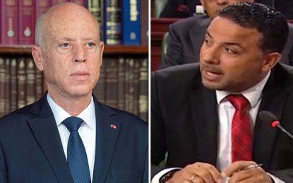 Pour Makhlouf, le discours du président Saïed est «pitoyable»