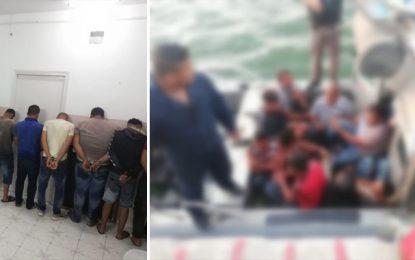 Migration clandestine : Sauvetage de 18 personnes au large de Kerkennah