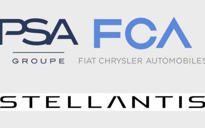 Le nouveau groupe issu de la fusion de FCA et PSA s'appellera Stellantis