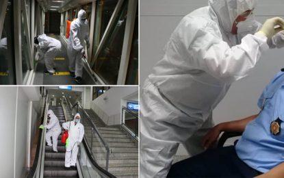 Aéroport Tunis-Carthage : Renforcement des mesures sanitaires après la contamination d'un agent au coronavirus