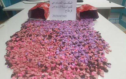 Aéroport de Tunis-Carthage : Saisie de 8.000 comprimés d'ecstasy
