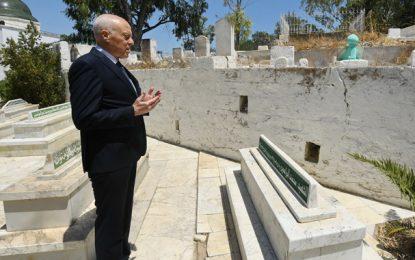 Tunisie : Saïed se recueille à la mémoire des martyrs et des leaders de la nation (Vidéo)