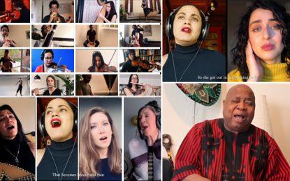 Emel Mathlouthi fait chanter «Kelmti Horra» par 53 artistes issus de 22 pays (Vidéo)