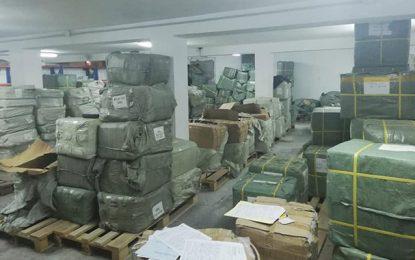 Tunisie : La garde douanière saisit une marchandise de contrebande d'une valeur de 1,3 million de dinars