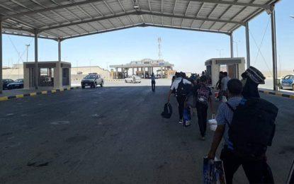Bloqués à la frontière tuniso-libyenne, 125 Tunisiens rapatriés et placés à l'isolement
