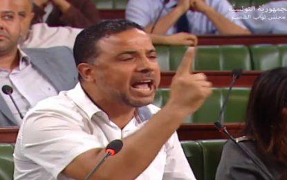 Empêché de faire entrer, au parlement, son invité fiché S17, Makhlouf dans tous ses états