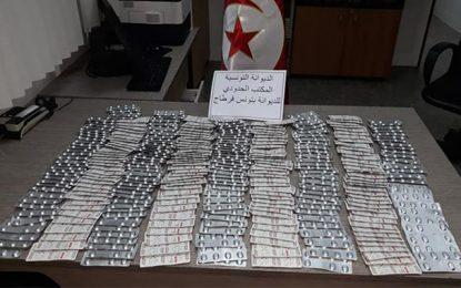 Saisie de 2.100 comprimés de subutex à l'aéroport Tunis-Carthage