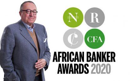 Trophées African Banker 2020 : Trophée de la carrière exemplaire remporté par Ahmed Abdelkefi