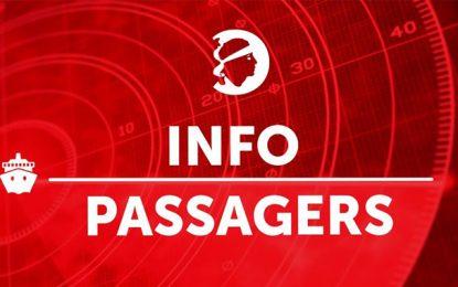 Corsica Linea : Protocole sanitaire pour les passagers de Tunis se rendant à Marseille