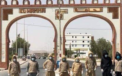 Gabès : Prolongation du couvre-feu à El-Hamma (Vidéo)