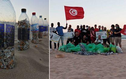 Opération mer propre : La plage de la Marsa Cubes débarrassée des déchets (Photos)