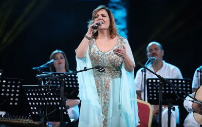 Avec «Nesma Bayati», Leila Hejaiej transporte le public de Hammamet sur les ailes du désir