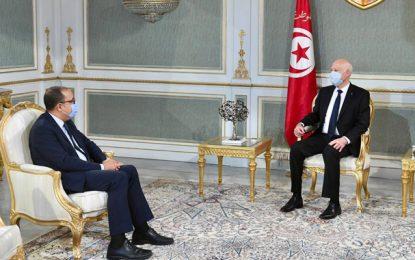 Composition du gouvernement : Kaïs Saïed reçoit Hichem Mechichi