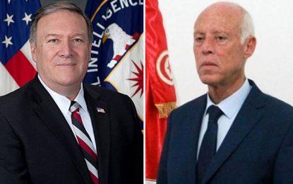Tunisie – Etats-Unis : Pourquoi Pompeo s'est-il dit satisfait de sa discussion avec Saïed