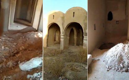 Patrimoine : La mosquée Ouelhi, à Djerba, vandalisée par des «chercheurs de trésors» (Vidéo)