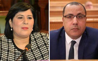 Formation du prochain gouvernement : Abir Moussi refuse de se concerter avec Hichem Mechichi