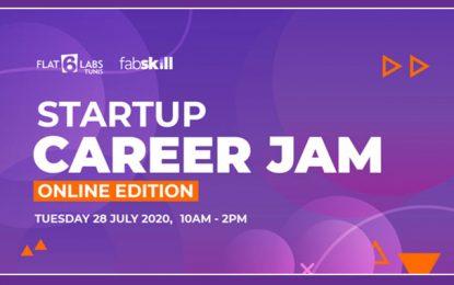 Startup Career Jam, un salon de l'emploi 100% virtuel