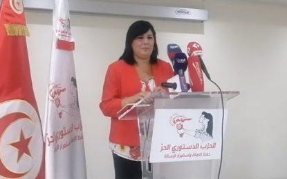 Abir Moussi n'entend pas desserrer l'étau autour des Frères musulmans en Tunisie
