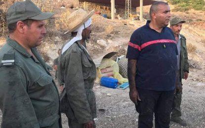 Bizerte : Arrestation d'un individu qui aurait mis le feu à Jebel Tabouna