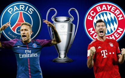 PSG-Bayern en live streaming: finale LDC 2020