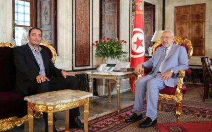 Affaire Yassine Ayari – Julien Balkany : Rached Ghannouchi reçoit le député tunisien